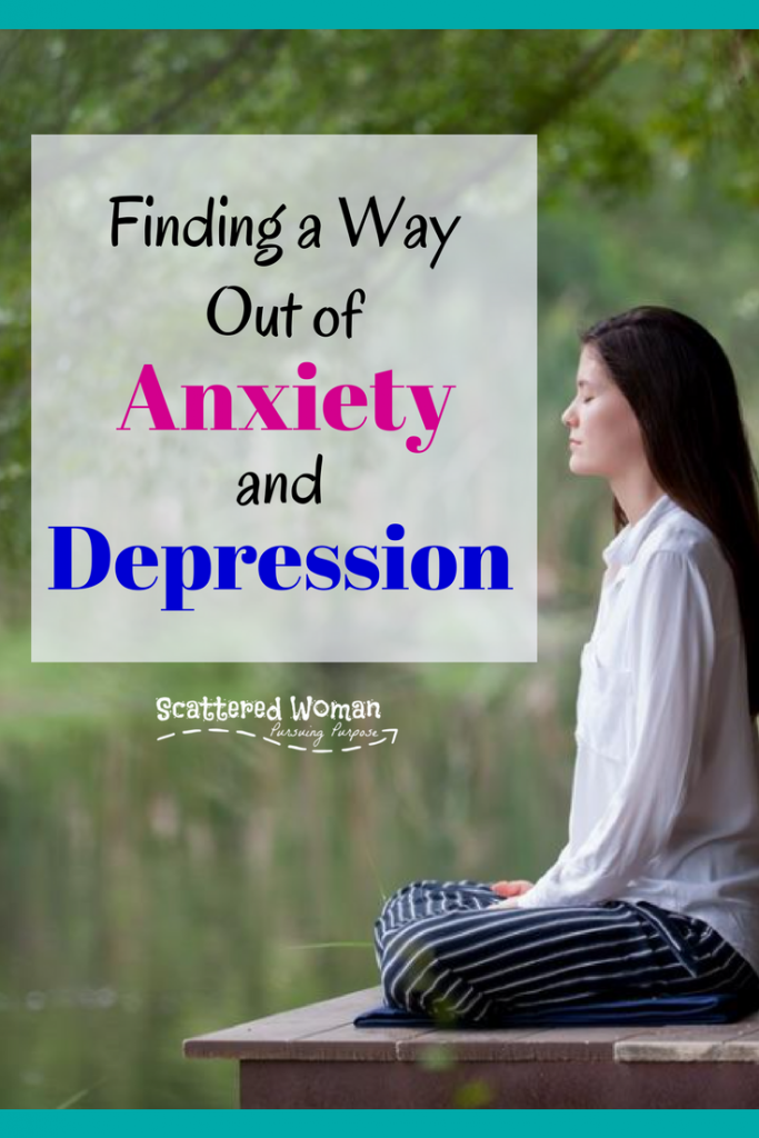 """You know what you're struggling with is more than just the """"Wintertime Blahs,"""" so now what? Check out these tips for Finding a Way Out of Anxiety & Depression!"""