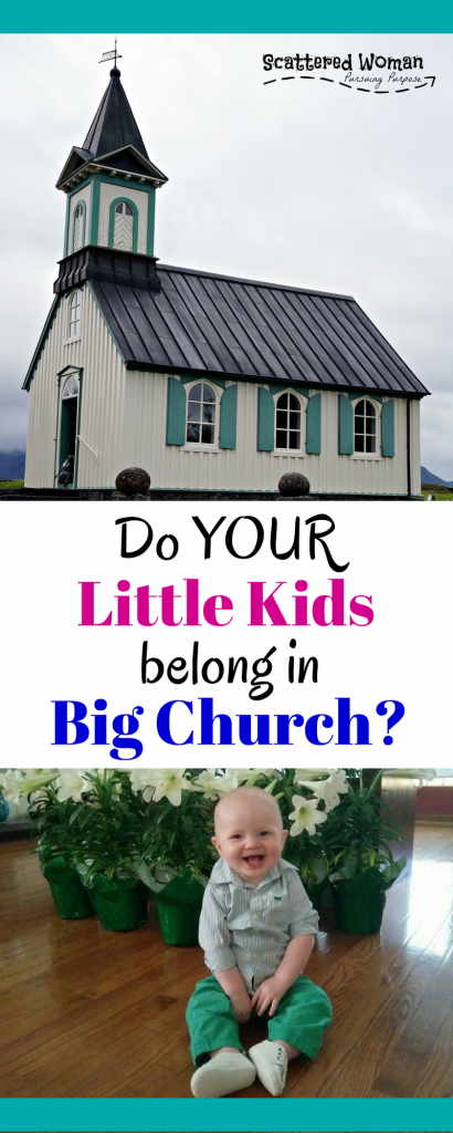 In an age of prolific children's ministries and a focus on age-appropriate church activities, there are still very valid arguments for why it's a great idea to include Little Kids in Big Church. Here are a few...