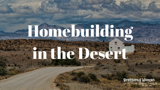 Homebuilding in the Desert