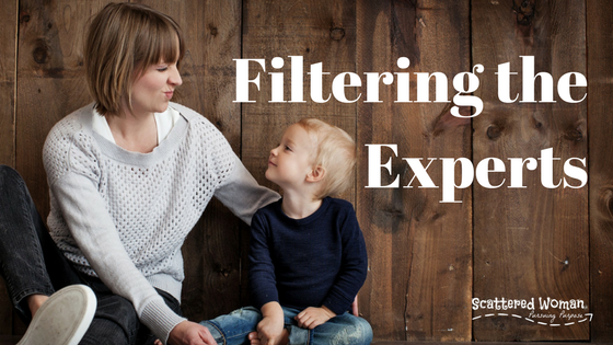 Filtering the Experts