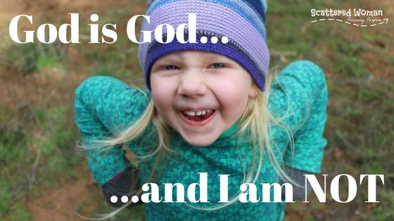 God is God - title