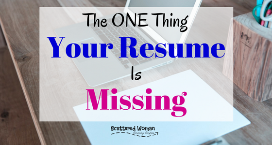 fix your failing sahm resume with this one thing