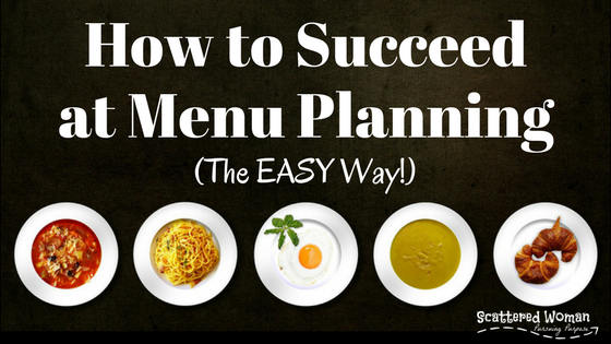 Do you struggle to meal plan? Tried a million strategies that only leave you feeling like a failure? Finally, here's how you can SUCCEED at meal planning!
