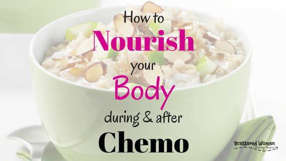 You've detoxed, now it's time for NOURISHING your body during & after chemo. Use these tips and The Gut Health Super Bundle to start your healing journey!