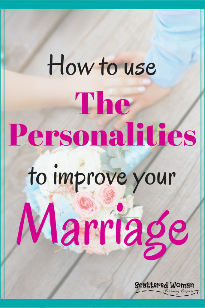 One of the easiest ways you can dramatically improve your relationship with our spouse is to understand and VALUE the different Personalities in Marriage. Let's dive in & see how using The Personalities can help YOUR marriage thrive!