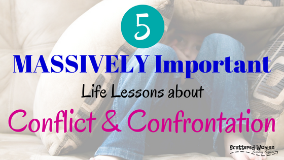 Do you HIDE from CONFLICT? Does the thought of confrontation make you want to run away and never come back? Once you master these 5 MASSIVELY IMPORTANT life lessons about conflict & confrontation, you'll never have to hide again -- and you'll be able to teach these lessons to your kids, too!