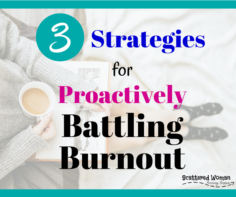Are you working your tail off every single day with little to show for it? Are you starting to feel burnt out with this whole WAHM thing? If so, you need these 3 Strategies to Proactively Battle Burnout!