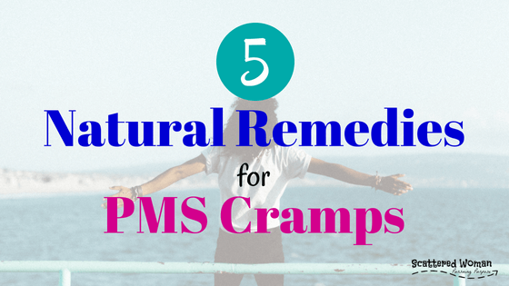 For many of us, the cramps that accompany our periods are the worst part of being a woman. But you don't have to be miserable each month! Here are 5 natural PMS cramp remedies EVERY woman should know!