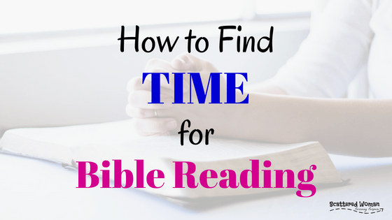 When we understand the Feast of the Firstfruits, we can finally find time for Bible reading -- even as a busy mom -- with zero guilt!