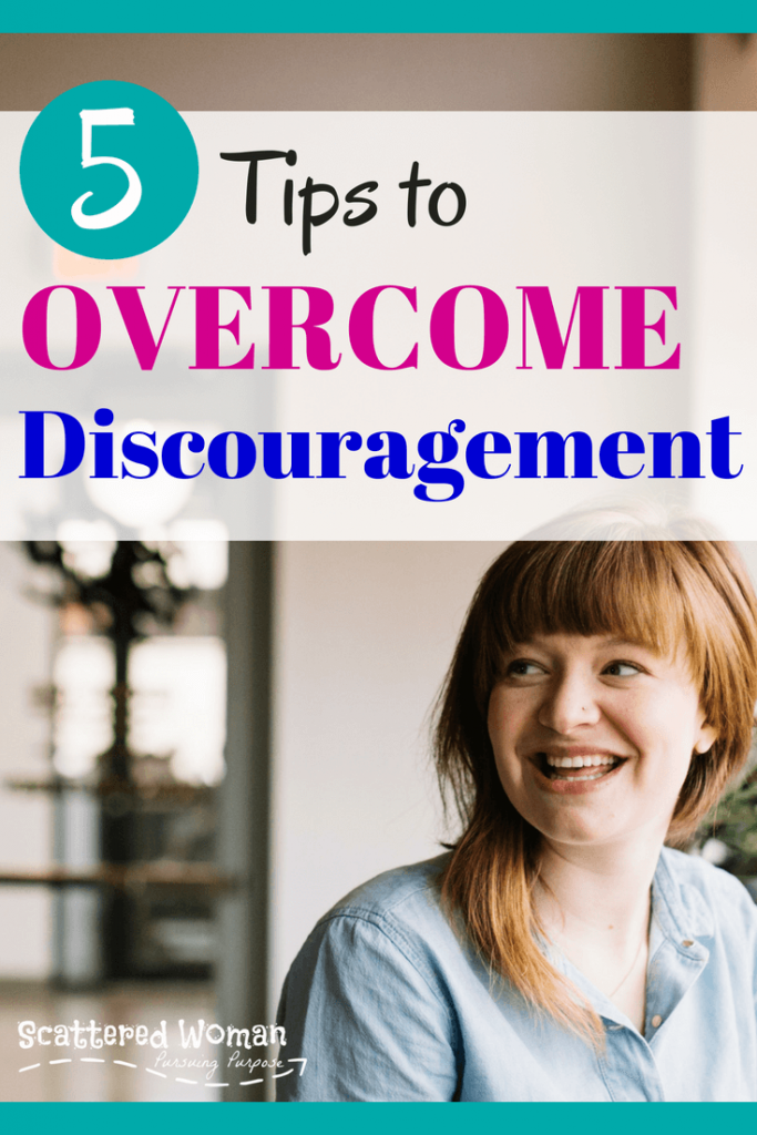 It's so easy to become discouraged as moms. No matter where the frustrations come from, here are 5 tips for fighting discouragement!