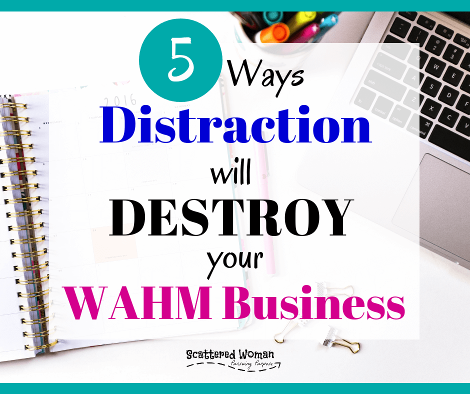 Are you struggling to get your WAHM Business off the ground? Getting easily distracted? Waffling on those key business decisions? Chances are you're being double-minded! Not sure what that means? Keep reading to learn how being double-minded will destroy your WAHM Business -- and what God says to do about the problem! #WAHMbusiness | make money from home | work from home jobs for moms | how to start a business from home | how to start an online business | God-honoring WAHM Business | #faithfulentrepreneur | at-home business tips | WAHM business mistakes